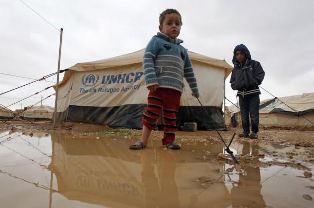 Syrian refugee camp-jordan