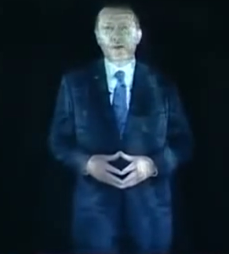 erdoganhologram