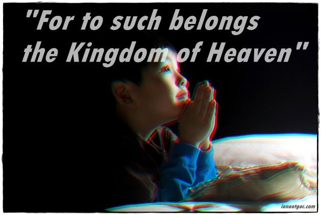 Matthew 19:14
