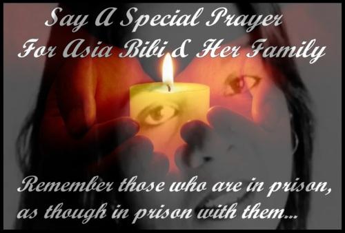 Pray for Asia Bibi
