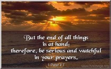 "JESUS said; ""What I say unto you I say unto all, WATCH"