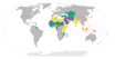 """Use of Sharia by country"" by 2013_Freedom_House (Wikimedia commons)"
