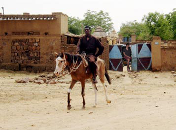 """""""Janjaweed are omnipresent. They are seen in marketplaces and within walking distance of refugee camps. They have terrorized black Africans in Darfur for more than a year."""""""