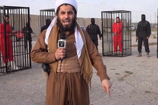 ISIS News Network?  Photo via Daily Mail