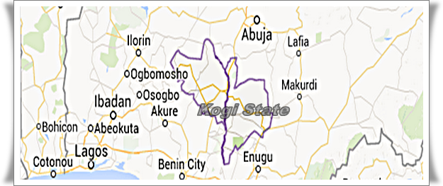 Kogi state is found in the central region of Nigeria. Kogi State connects the Federal Capital Territory with 22 Southern States.