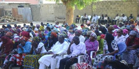 Church gathering Maiduguri, Nigeria (World Watch Monitor)