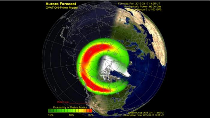 aurora forcast