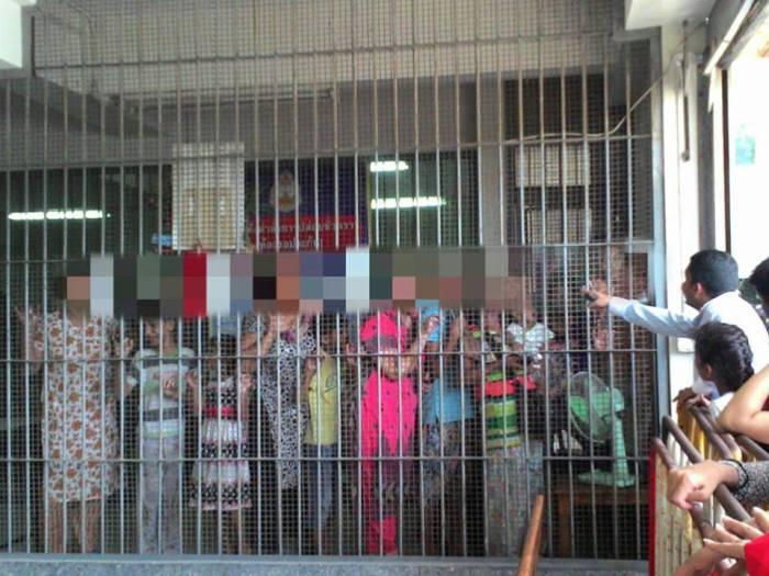 detention bankok, Christians in Pakistan facebook