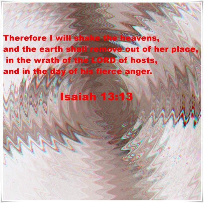 shaking in Isaiah