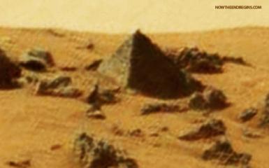 NASA Mars pyramid