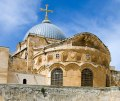 CHURCH OF THE HOLY SEPULCHER - THE MUSLIMS WANT THIS SITE FOR THEMSELVES!