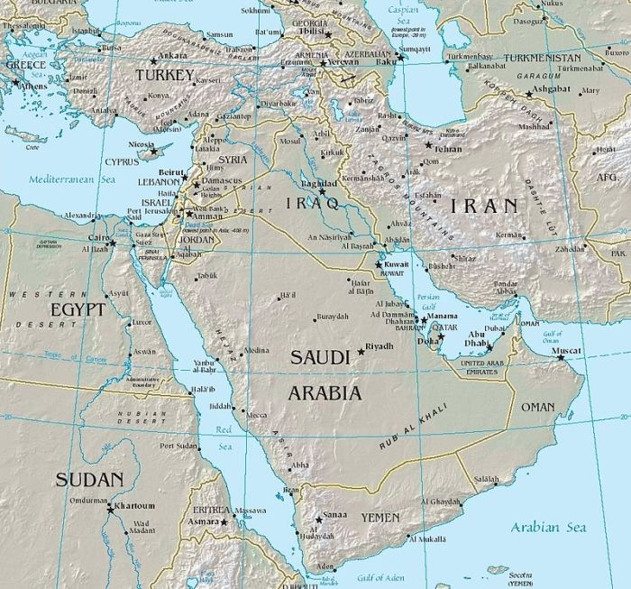 middle east euphrates