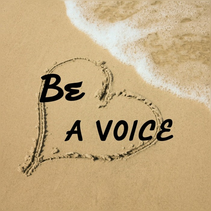 be a voice3