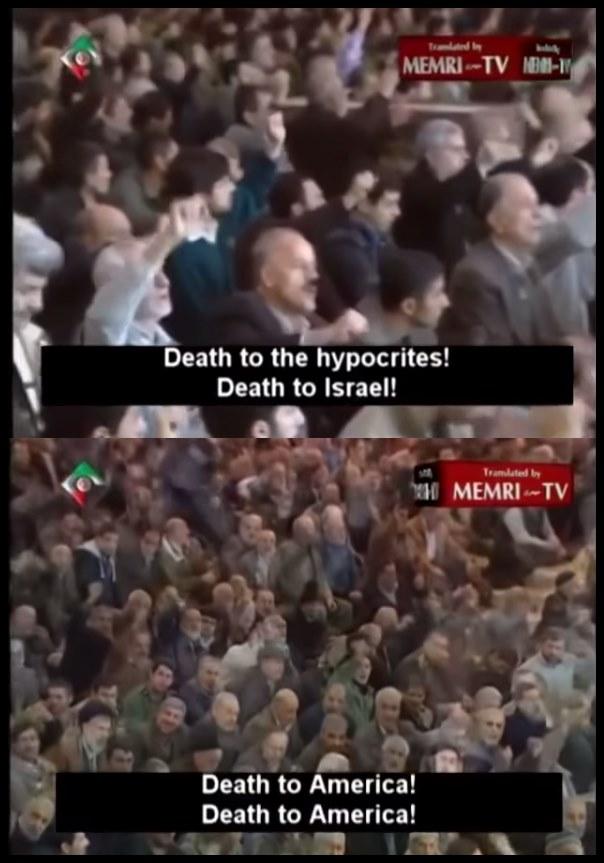 iran hatred