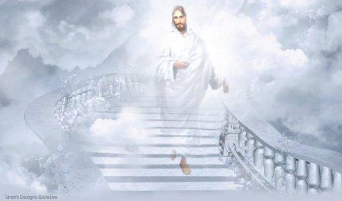 WHITE JESUS CLOUDS