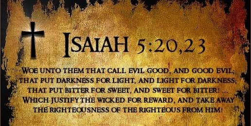 ISAIAH WOE 5 VS 20,23