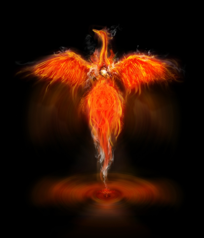 The Phoenix obtains new life by arising from the ashes of it's predecessor