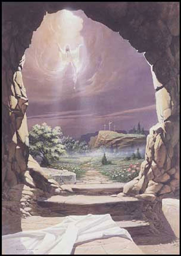 EMPTY TOMB --- PURPLE